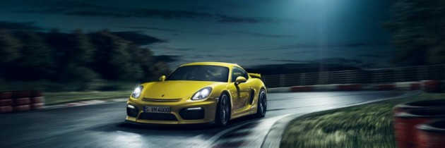Noul Porsche Cayman GT4 ofera 385 de cai putere