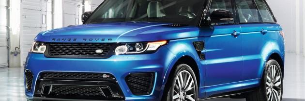 Noul Range Rover Sport SVR: 0-100 de km/h in 4.5 secunde