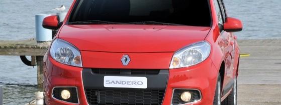 Primele fotografii cu Dacia Sandero facelift