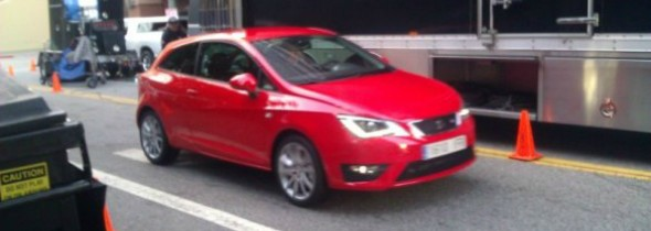 Prima imagine in care este surprins Seat Ibiza facelift