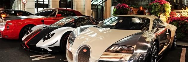 Strazile Londrei invadate de arabi si masini supersportive