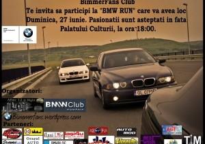 BimmerFans organizeaza BMW Run
