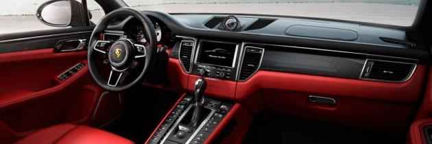 Interiorul noului Macan, prezentat de Porsche