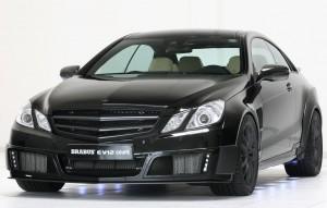 Mercedes-Benz E-Coupe modificat de Brabus
