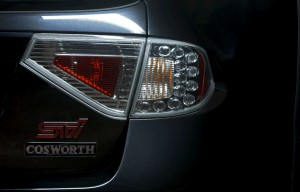 In curand – Cosworth Subaru Impreza STI CS400