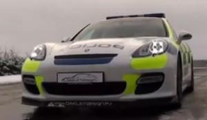 Porsche Panamera in dotarea politiei