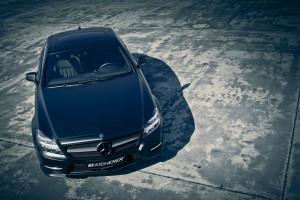Mercedes CLS 500 a fost modificat de Kicherer