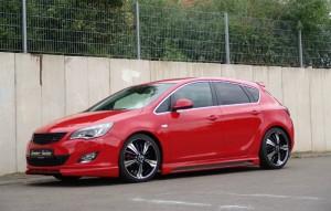 Opel Astra a fost modificat de Senner