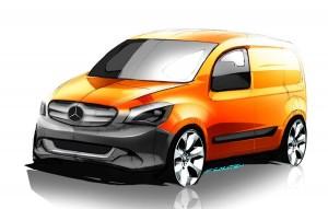 Mercedes va produce o utilitara bazata pe Renault Kangoo