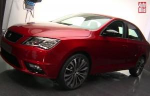 SEAT Toledo a fost dezvaluit inainte de lansarea oficiala